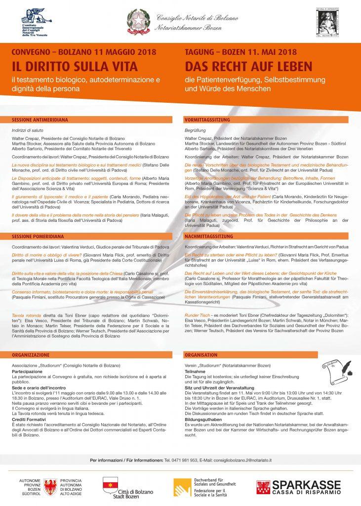 convegno testamento biologico pdf locandina